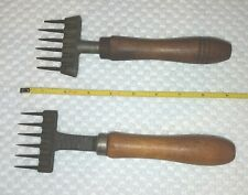 Antique Vintage Ice Pick Chippers Gilchrist #50 & Briddell #66 Lot of 2 Tools