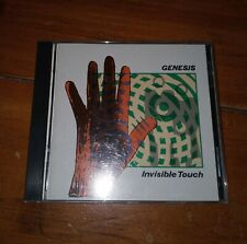 Genesis Invisible Touch Cd Prog Rock Pop Phil Collins