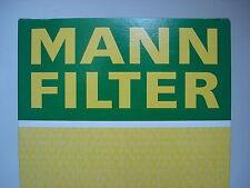 2 Stück MANN HUMMEL Oelfilter Opel Movano, Ren. Bj.70-   RG5   W753   W75/3