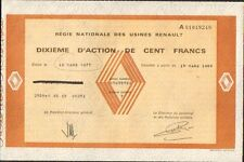 1/10è d'action: Régie Nationale des Usines RENAULT (R)