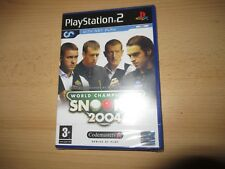 Playstation 2  World Championship Snooker 2004 ps2 new sealed pal version