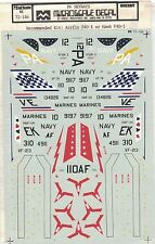 Micro Scale Decals F-104 Starfighters USAF Military Fighter Matchbox 1:72 NOS