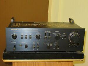 Hitachi Stereo Control Amplifier HCA-8300  vintage Preamplifier preamp Serviced