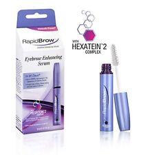 RapidBrow Eyebrow Enhancing Serum with Hexatein Complex, 3ml, 1 Fl oz NEW