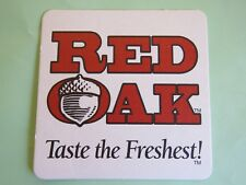 Beer Coaster ~ RED OAK Brewing ~ Whitsett, NORTH CAROLINA ~ Drink the Freshest!