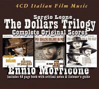 ENNIO MORRICONE - COMPLETE DOLLARS TRILOGY  3 CD+BUCH NEW!