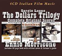ENNIO MORRICONE - COMPLETE DOLLARS TRILOGY  3 CD+BUCH NEU