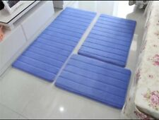 Water Absorption Bath Mat Set Anti-slip Bathroom Mat