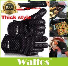 1Pcs Kitchen Silicone Glove Heat Resistant Bbq Oven Pot Holder Hot Cooking Mitt