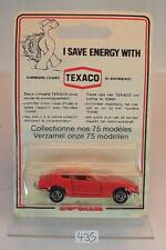 Majorette 1/60 Nr. 229 Datsun 260Z rot Texaco Blister Verpackung OVP #435