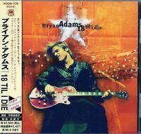 Bryan Adams -18 Til I Die, JAPAN CD OBI +1 BONUS_POCM-1170