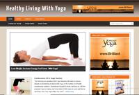Yoga PLR Niche Blog Ready Made Affiliate Website - Free Hosting / Setup