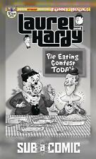 LAUREL & HARDY #2 B&W VARIANT COVER (AMERICAN MYTHOLOGY 2019 1st Print) COMIC