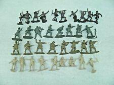 Vintage Marx Playset Figures 35 Army Soldiers