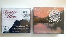 LOT x2 The Magic of Ireland + Foster & Allen 3-Disc Sets 6 CDs Compilation VGC