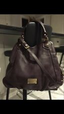 Marc Jacob Large Francesca Hobo Oxblood