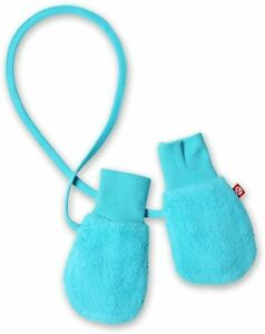ZUTANO TODDLER UNISEX GIRLS BOYS COZIE FLEECE SNOW MITTENS  (blue) ONE SIZE