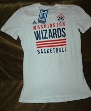 Washington Wizards t-shirt YOUTH girl's large NEW with tags Adidas vintage NBA