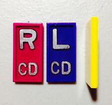 Set of X-RAY MICRO MARKERS Custom Pair 10 Colors Thin Small Xray Lead