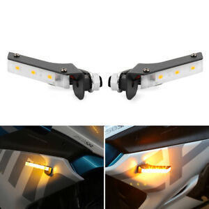 Invisible LED Turn Signal For CFMOTO 250SR 400GT 650GT 150NK 250NK 650MT 800MT