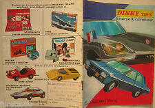 DINKY TOYS catalogo 1971 francese French catalogue Meccano Tri-ang Scalextric