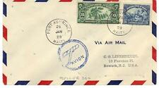 "HAITI 1929 EARLY AIR MAIL ""MULLER 300"" PORT AU PRINCE"