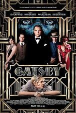 The Great Gatsby  movie poster Leonardo Dicaprio poster - 11 x 17 inches (2013)