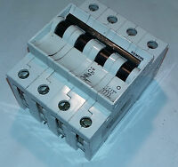 SIEMENS 5SX1 C 25 25 A 4 POLOS MAGNETOTERMICO CIRCUIT BREAKER ***