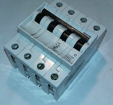 SIEMENS 5SX1 C 25 25 A 4 POLOS MAGNETOTERMICO CIRCUIT BREAKER