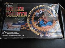 K'nex  Roller Coaster Building Set #63030, 1995 - Rare - parts/pieces only