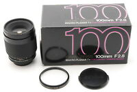 【TOP MINT BOXED】Contax Carl Zeiss Planar T* 100mm f/2.8 AEJ CY Mount From JAPAN