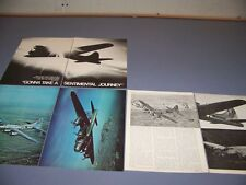 "VINTAGE..B-17 ""SENTIMENTAL JOURNEY"" HISTORY..HISTORY/PHOTOS/DETAILS.RARE! (800L)"