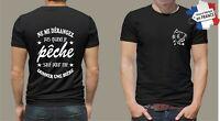 t-shirt personnalisé PËCHE BIERE CARPE humoristique P075