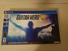 Guitar Hero Live, PlayStation 4 (PS4) - Box Bundle - VERY Minimally Ever Used!