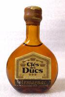 Very Old Vintage Mini Bottle ✱ CLÉS des DUCS ARMAGNAC ✱ Petit Bouteille France