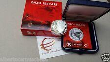 10 euro Ag Italia 2016 Proof BE PP Fs FERRARI Italie Italy Italien Италия イタリア