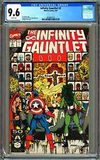 INFINITY GAUNTLET #2 - CGC 9.6 WP - NM+ THANOS - GEORGE PEREZ COVER