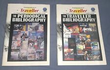 Lot of 2 rare Traveller RPG books - Bibliography and Periodical Bibliography