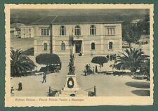 Calabria. SIDERNO MARINA, Reggio Calabria. Cartolina d'epoca viaggiata anni '30.