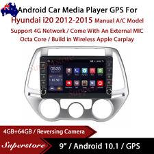 "9"" Android 10.1 Car Stereo Non-DVD GPS Radio Head Unit For Hyundai i20 2012-2015"