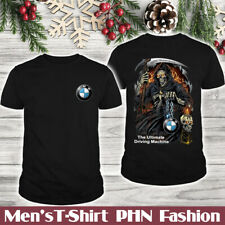 BMW X3M-X4M-X5M-X6M/Top Men's US T-Shirt/Skull/Candle/Logo In The Front/Hot Gift
