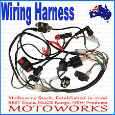 Full Electrics wiring harness 50cc 70cc 110cc 125c ATV Quad Bike Buggy gokart b