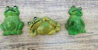 Vintage 1970s Travco Frog Magnet Set
