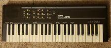 Mid 80's Vintage Suzuki Keyman PK-49 SIEL Italy MIDI Synth Keyboard RARE