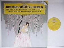 FISCHER DIESKAU SINGS R. STRAUSS LIEDER WITH SAWALLISCH PIANO DG 415 470 DIGITAL
