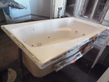 "American Standard Whirlpool Jacuzzi Bath Tub 60"" X 32 .5"" White Right hand AS IS"