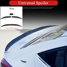Adjustable Universal Rear Trunk Spoiler Lip Wing Unpainted Black For Car Sedan Fits Toyota Yaris