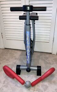 Fitness Quest Leg Magic Thigh Hips Exerciser & Thigh Master Fitness Bundle