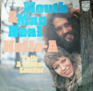 Vinyl MOUTH & Mac NEAL - Hello-A / Talk a little louder Philips 6012 229