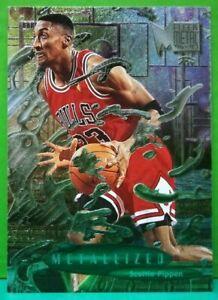 Scottie Pippen subset card Metallized 1996-97 Fleer Metal #229